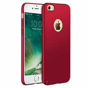 Red Ultra Thin Slim Hard Cover